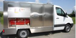Hertel sales trucks for rotisserie chicken L